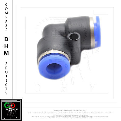 Push-in fitting union elbow PV 1/4 pneumatic fitting air push