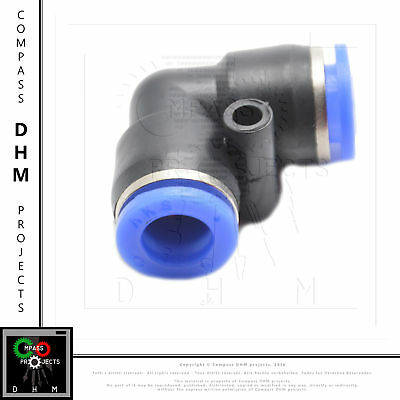 Push-in fitting union elbow PV 5/16 pneumatic fitting air push