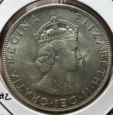 1964 Bermuda Silver Crown. Beautiful Collector Coin For Your Collection 2
