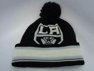 0cbc771f63f Los Angeles Kings Reebok NHL Cuffed Knit Toque Big Man Beanie Hat Cap OSFM