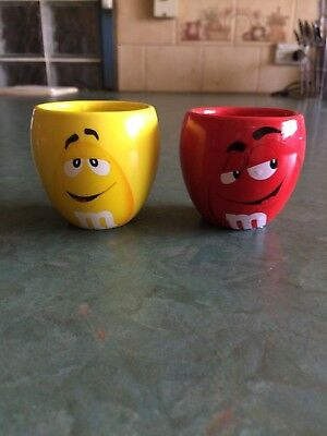 Pair of M&M Novelty Egg Cups