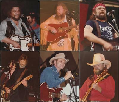 Lot of Vintage 1980s Country Music Stars 8 x 10 Photographs