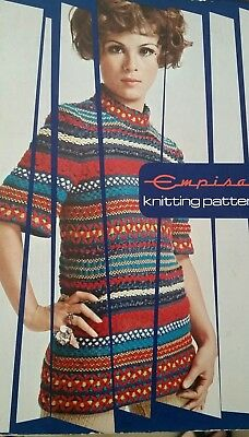 Empisal Knitting Machine Pattern Book Reference  Style 100s of pattern 379 pages