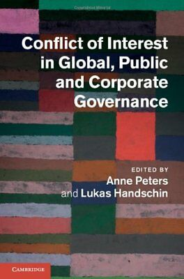 NEW Conflict of Interest in Global, Public and Corporate Governance