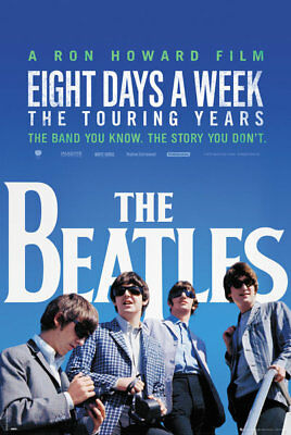 (LAMINATED) THE BEATLES MOVIE POSTER (61x91cm) EIGHT DAYS A WEEK PRINT new ART