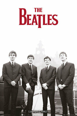 The Beatles POSTER (61x91cm) Liverpool 1962 Print New Licensed Art