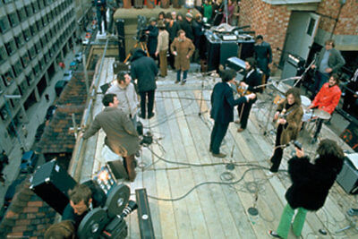THE BEATLES POSTER (61x91cm) ROOFTOP PRINT new licensed art