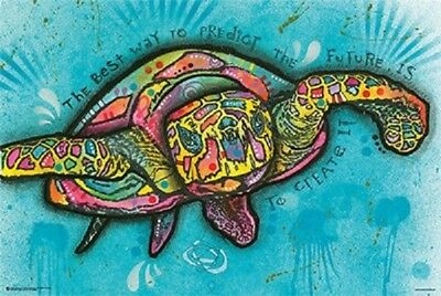 TURTLE POSTER (61x91cm) DEAN RUSSO PRINT new licensed art