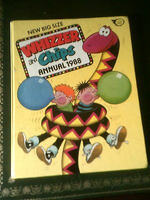 Whizzer and Chips Annual 1988, Published 1987, UK Annual, Vintage Book