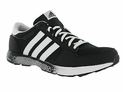 brand new 292be 5253d adidas oregon 11 BLACK blanc sport lacets MODE TENNIS hommes chaussures UK  12.5
