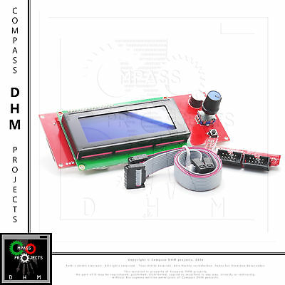 Smart Controller LCD screen 2004 graphic 3d printing