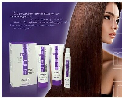 Subliss Brazilian Keratin Lissage System By Maxima, Formaldehyde Free.