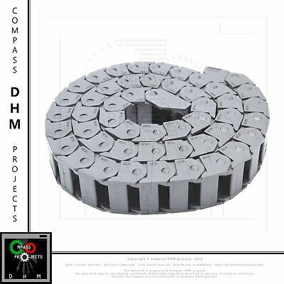 Energy chain Length 1 m - Internal dimensions 15x20 mm 3d printing cable CNC