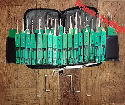 PRO lockpicking locksmith lock pick set tools unlocking - crochetage serrure !