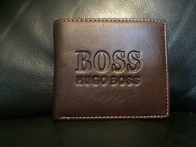 Hugo Boss Wallet.  Valentines Day. Free 1st Class Signed Postage