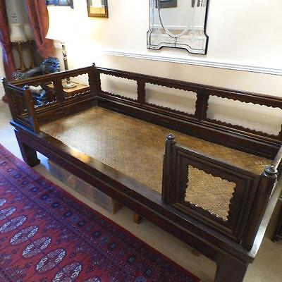 Chinese Qing Dynasty Luohan Day Bed Very Heavy