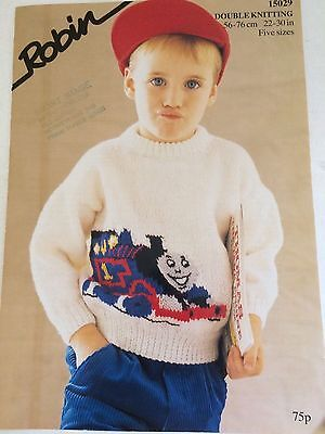 Robin Thomas The Tank Engine Picture Knitting Pattern 22 30