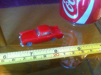 Minix Triang Tri Ang Rare Red No 7 Sunbeam Alpine Small Toy Car Vintage