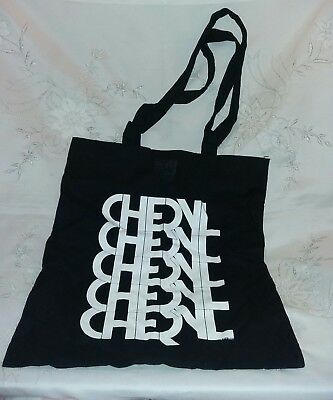 Cheryl Cole Tour Girls Aloud Keep Calm & Solider On Black Tote Bag New