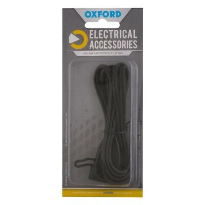 New Oxford Motorcycle Motorbike 1.5m Extension Lead SAE to SAE Connector EL110