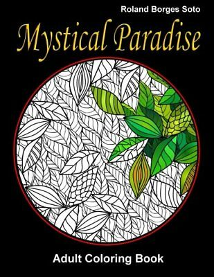 Mystical Paradise Adult Coloring Book: Stress Relief Coloring Book: Landscape  &
