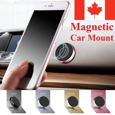Universal Magnetic Car Phone Mount Holder Magnet Stand For iPhone Samsung LG GPS