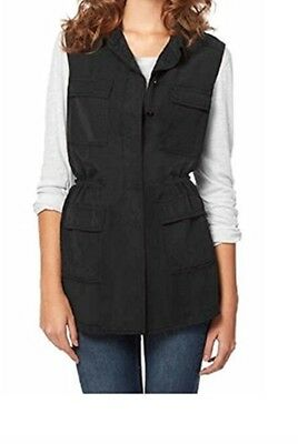 NWT Buffalo David Bitton Ladies Lightweight Vest/Shirt Size L