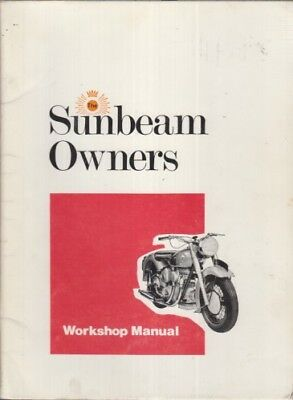 Sunbeam S7 , S7 De-Luxe & S8 (1946-57) Owners Workshop Manual