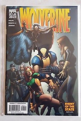 Wolverine Vol.3 #25 - Enemy Of The State Pt. 6 Of 6 - Marvel Comics (2005) *nm*