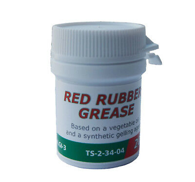 20g Genuine Castrol Red Rubber Grease Brake Caliper Fluid Rebuild Superb