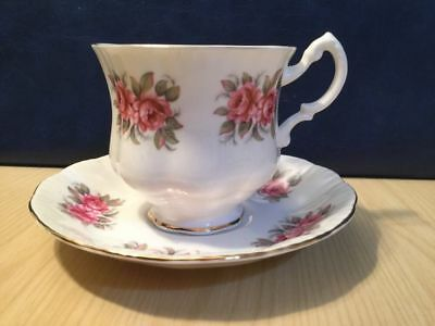 Royal Standard Cup And Saucer Pink Roses Vintage Bone China Tea Parties