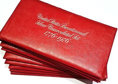 United States Bicentennial Silver Uncirculated Set 1776-1976 Ten Pack