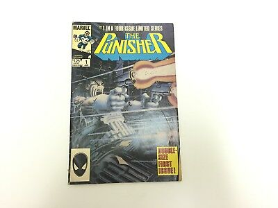 1986 Marvel THE PUNISHER #1 Double-Size 1st Issue,  A Four-Issue Limited Series