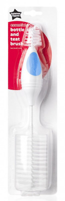 Tommee Tippee Essentials Bottle & Teat Brush Various Colours