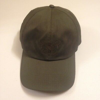 Scout Hat - Boy Scouts of America Green Hat Size M/L Embroidered Logo