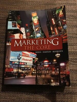 Marketing Book, Marketing: the Core by Hartley, Kerin, Rudelius
