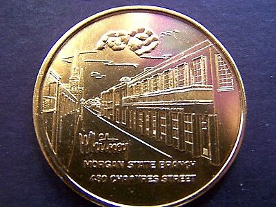 1966 WHITNEY BANK NEW ORLEANS Gold Aluminum Souvenir Doubloon