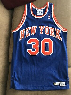 finest selection ecedb 6279a NEW YORK KNICKS Game Worn Bernard King Jersey 46+2 Used Gerry Cosby