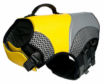 EQDog Pro Life Vest, Dog Flotation Device, Swimming Safety Jacket