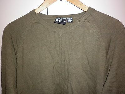 Country Road Khaki Size M Wool Jumper Excellent Condition