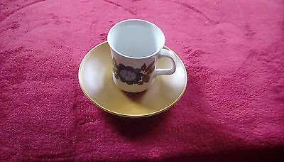 "Reduced***j & G Meakin Studio ""topic"" Coffee Cup And Saucer"