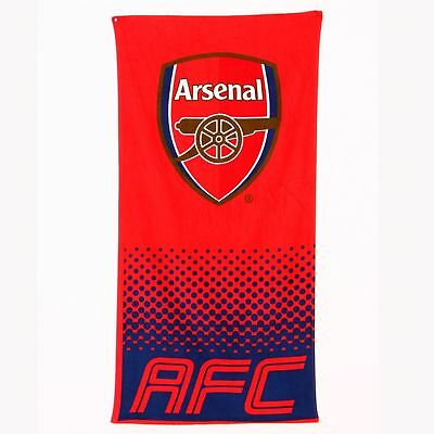 New Arsenal F.c. Football Club Beach Bath Towel Boys Kids Fans Holiday Bathroom