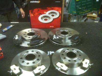 VW GOLF GT SPORT 2.0TDi BRAKE DISC PADS FRONT REAR MINTEX BRAKE DISCS & PAD