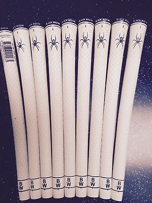 Black Widow Tour Silk Grips White [set of 9]