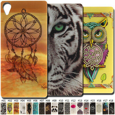 TPU Rubber Gel Protective Soft Cover Skin Case Shockproof Back For Sony Phones