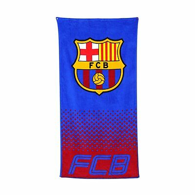 New Barcelona F.c. Football Club Beach Bath Towel Boys Kids Fans Holiday Gift