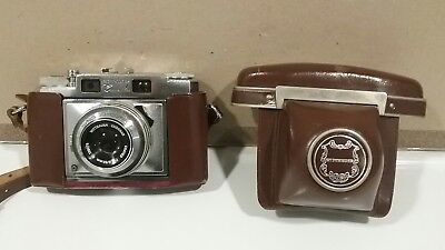 Vintage Wittnauer Constellation Camera with case, EXCELLENT!
