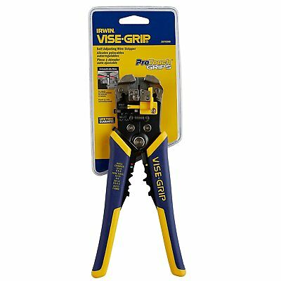 "IRWIN VISE-GRIP 2078300 Self-Adjusting Wire Stripper 8"" NIB"