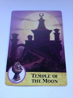Replacement Card For Gamewright Forbidden Island Game Oceans Chalice Spare