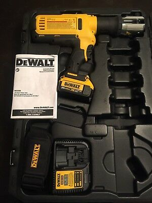 DEWALT DCE200 20v CORDLESS PIPE PRESS TOOL, CASE, 1-BATTERY, CHARGER, STRAP-NEW